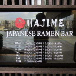 Hajime - Atlanta, seafood ramen, takoyaki. Druid hills