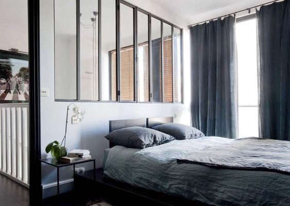 Est magazine interior designer sarah lavoine 8 verri re for Chambre avec verriere