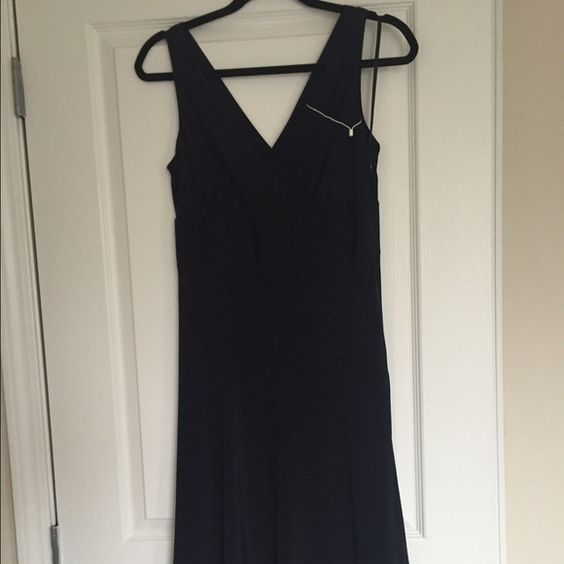 NWOT J Crew Navy silk dress: Size: 6 | Silk Dress, J Crew Dress ...