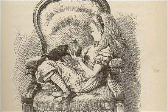 lewis carroll alice in wonderland illustrations