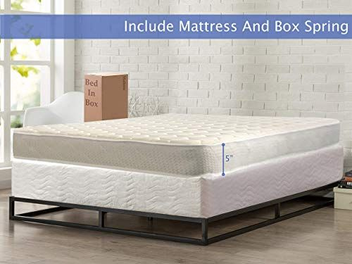 Amazing Offer On Nutan Medium Firm 5 Inch High Density Poly Foam Mattress And 8 Inch Unassembled Wood Boxspring Foundation Set King Size Beige Online Topsele In 2020 Mattress Mattress Buying Foam Mattress