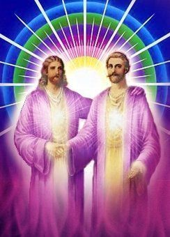 Saint Germain and Jesus Christ