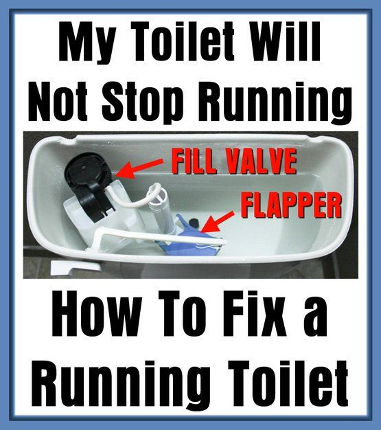 My Toilet Will Not Stop Running How To Fix A Running Toilet