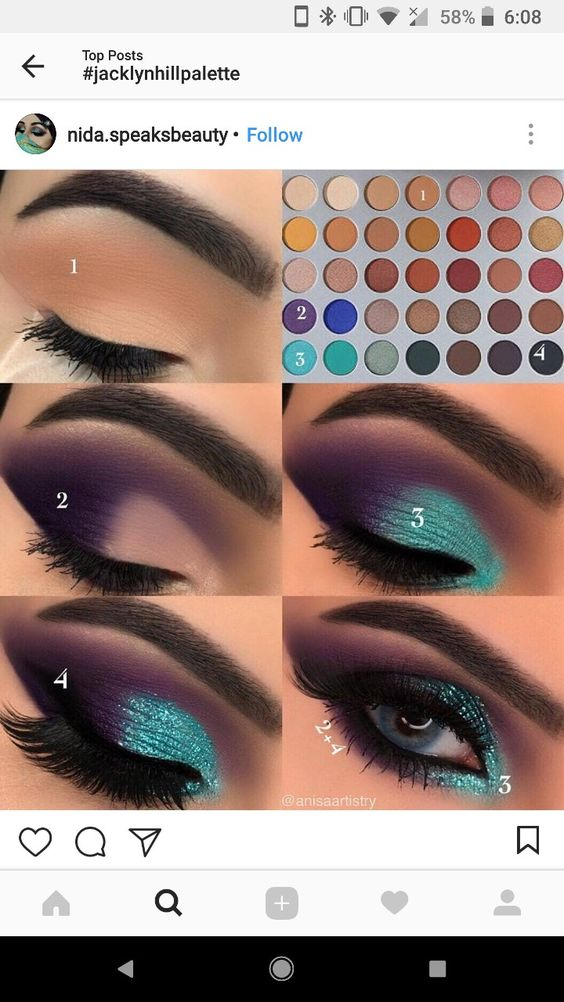 I like this beacsir I tried it and I enjoyed doing these different eye shadows and I also think that's it fun to do when your bored