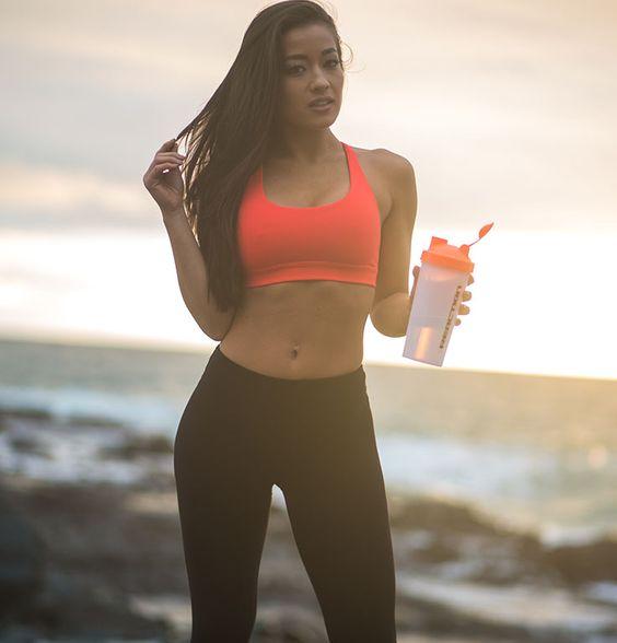@Steph_M_Snyder with Reaction Nutrition #fitnessgirls #victoriasSecret #beachbodies