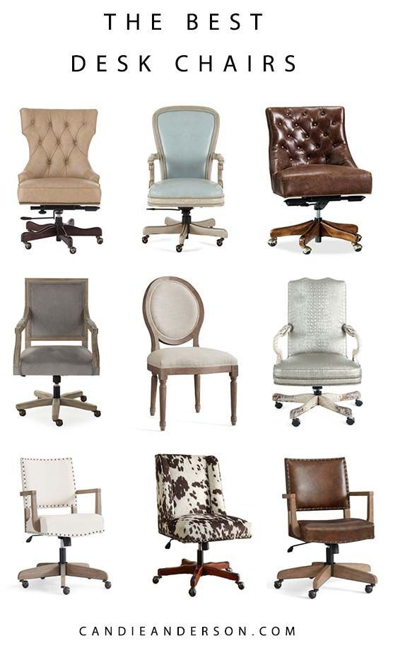 20 Best Desk Chairs Home Office Chairs On Sale Candie Anderson In 2020 Home Office Chairs Best Desk Desk Chair