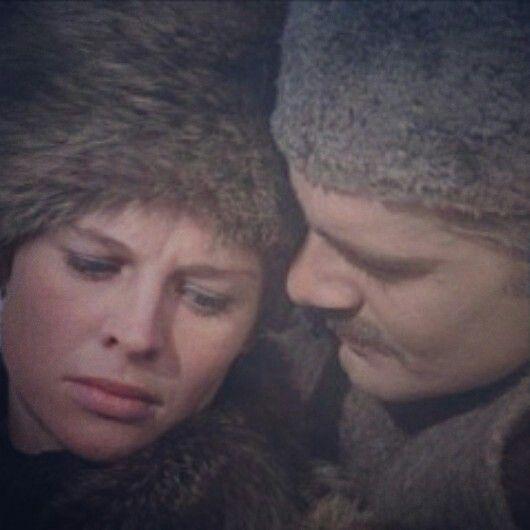 """Yuri y Lara. """"Doctor Zhivago"""", David Lean (1965)."""
