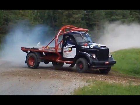 RUSSIAN MONSTER TRUCK - GAZ 51 -  Viru Rally 2013 SS7, SS8, SS11 -  Kaid...