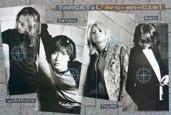 ターゲットL'Arc〜en〜Ciel