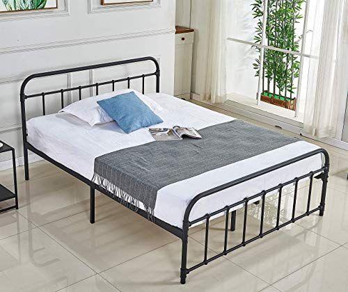 Enjoy Exclusive For Alooter Full Bed Frame Platform Metal Bed