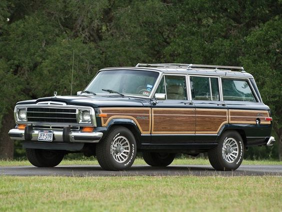 1990 Jeep Grand Wagoneer--Don't know why but I have always liked these