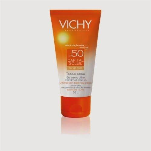 Beleza e etc..: Vichy Capital Soleil Toque Seco com Cor FPS 50