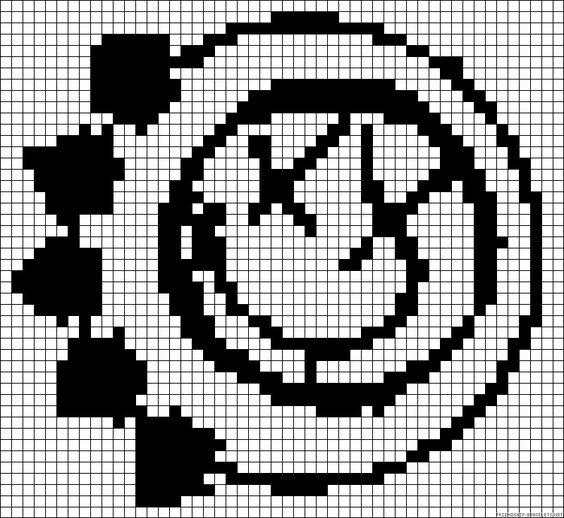 Blink 182 Logo 8bit