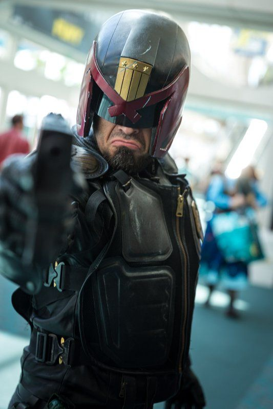 Judge Dredd Cosplay - #SDCC San Diego Comic Con 2014