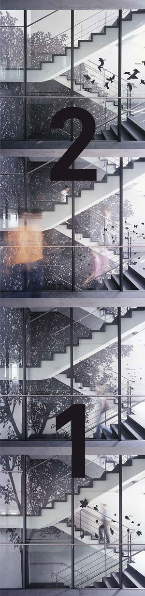 Inspired stairwell