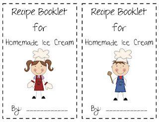 Homemade ice cream recipe and steps book