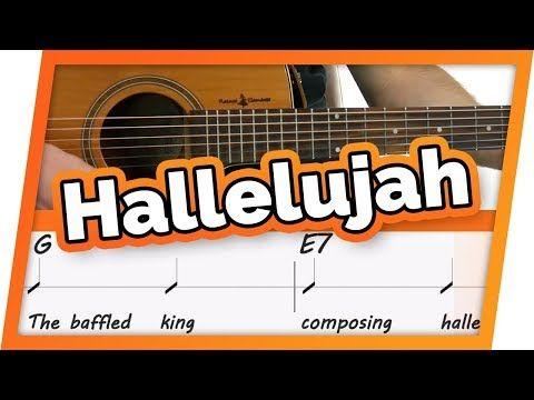 Hallelujah Easy Guitar Play Along Karaoke Jeff Buckley Pentatonix Leonard Cohen Youtube Guitar Play Along Karaoke Easy Guitar