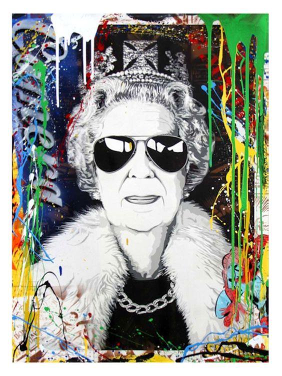 All hail the queen...