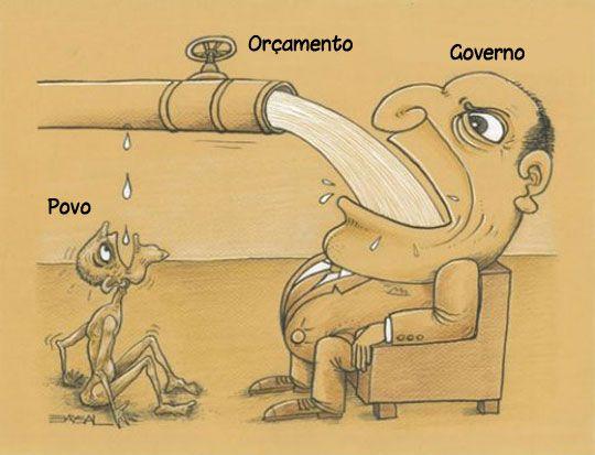 Basta rezar para que o governo exploda de tanta água.