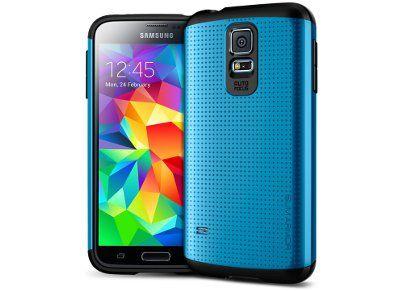 Θήκη Samsung Galaxy S5 - SGP Slim Armor SGP10753 Μπλε