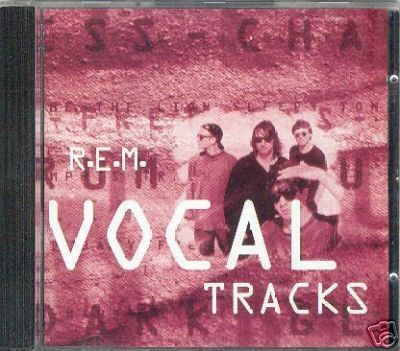 R. E. M. CD Single EP Vocal Tracks WEA German release