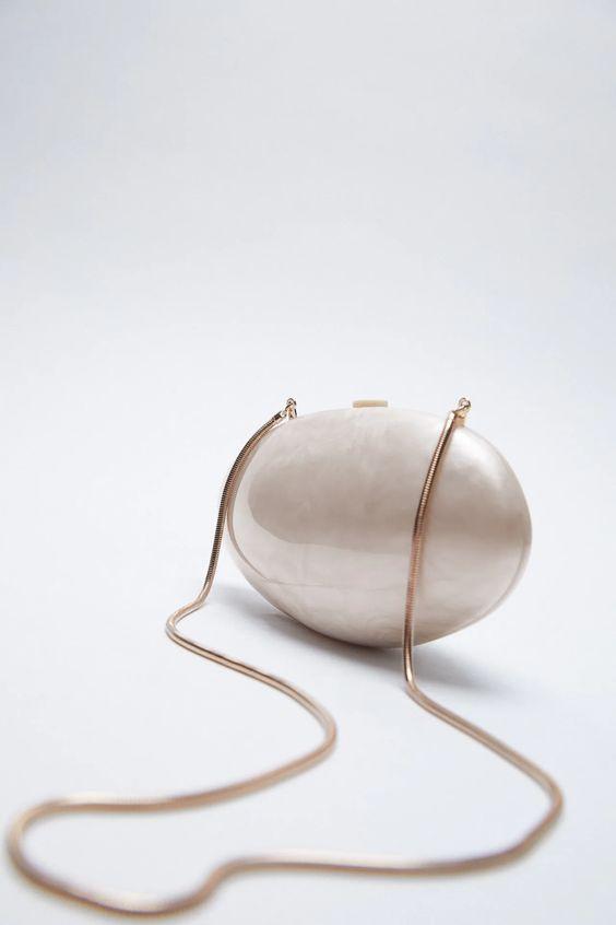 Oval Miniaudiére Bag Zara