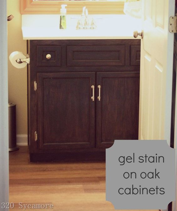 Oak Cabinets, Paint And Stains On Pinterest