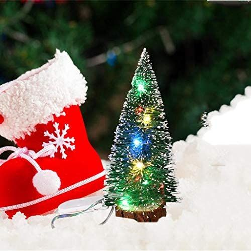 Tabletop Mini Christmas Tree With Led Lights Artificial Mini Christmas Tree Small Pine Led Christmas Tree Mini Christmas Tree Mini Christmas Tree Decorations