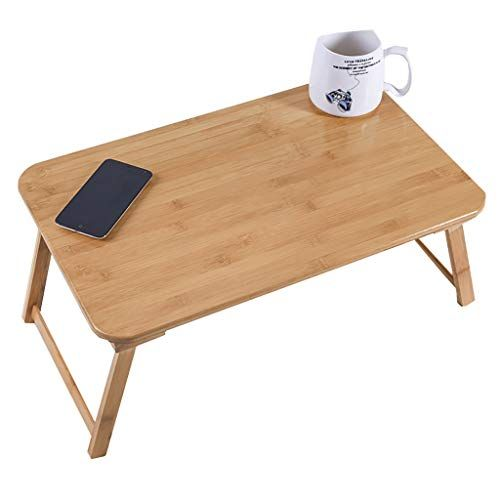 Zhaoru End Tables Bed Study Desk Laptop Table Lazy Folding Small Table Dormitory Bed With Simple Size 55cm Small Tables End Tables Desk Size