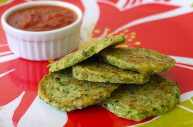 Green Veggie Pancakes — Punchfork
