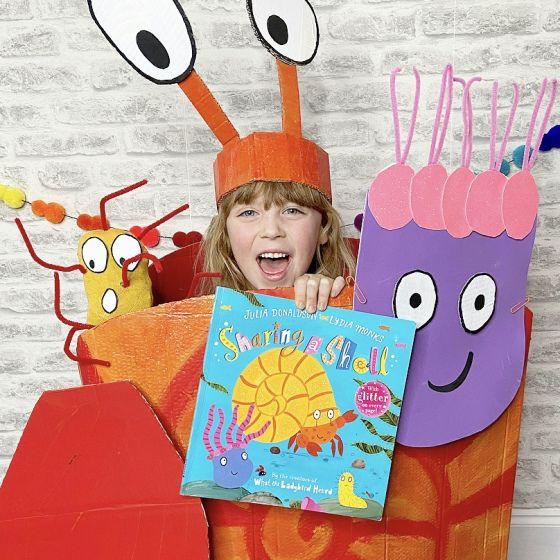 My World Book Day Costume – Sharing A Shell by Julia Donaldson   Dear Mummy Blog