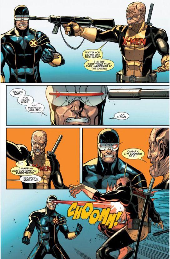 Deadpool Vs The X Men 6 Xmen X Men Ciclope In 2020 Cyclops Marvel X Men Marvel Funny