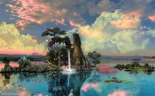 Fantasy Nature 4k Wallpaper 54 Pieces Fantasy Landscape Nature Wallpaper Nature Hd