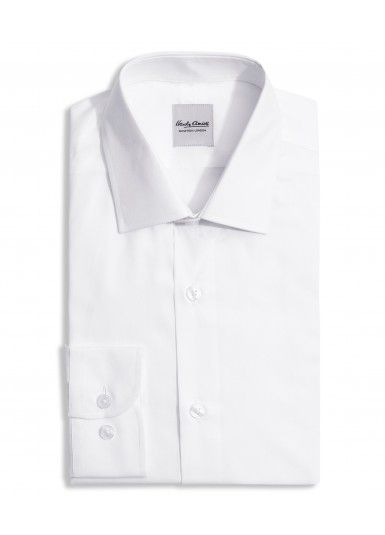 WHITE POPLIN COTTON Formal Shirt