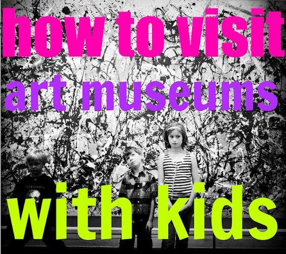 mamascout :: how to visit museums with kids
