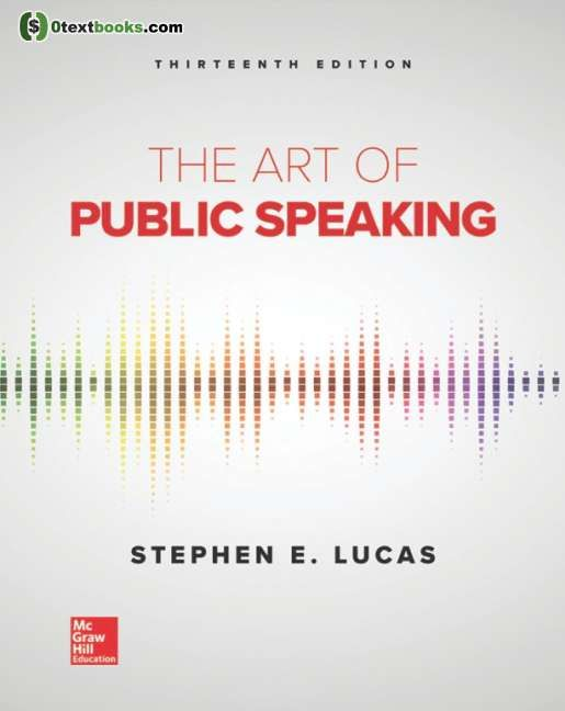 The Art Of Public Speaking 13th Edition Pdf With Images Public