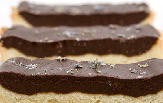Lavender-Cardamom-Dark Chocolate Tart | Chocolate Tarts, Tarts and ...