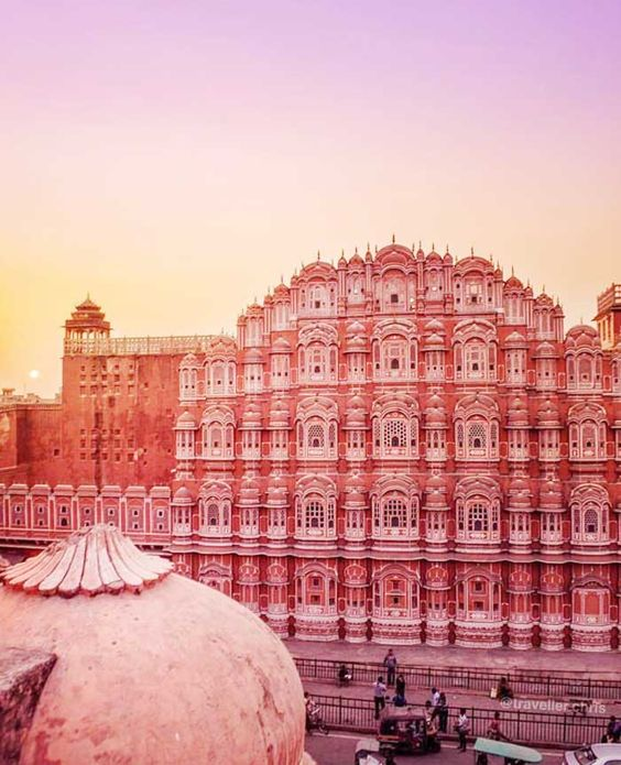 The Pink City In Jaipur