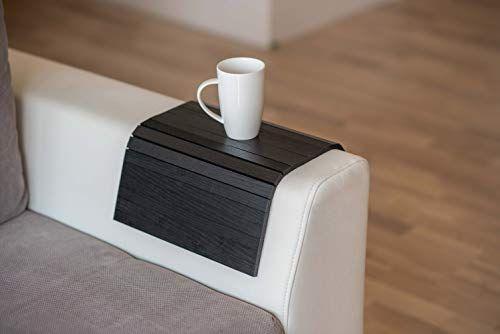 Wood Sofa Arm Tray Protectors Armrest Table Sofa Table Coaster Sofa Tray Tv Tray Balck Arm Rest Table Wood Sofa Table Coasters
