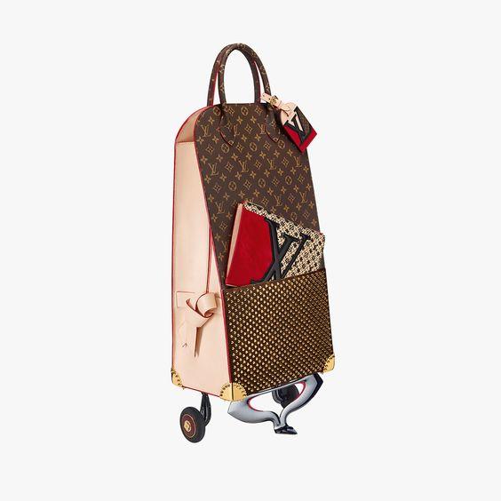 Coleção linda da Louis Vuitton no site: http://theaccessorista.com.br/2014/12/27/louis-vuitton-e-os-iconoclatas/