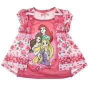 Short Sleeve Mock-Shrug Disney Princess Top (2T-4T)