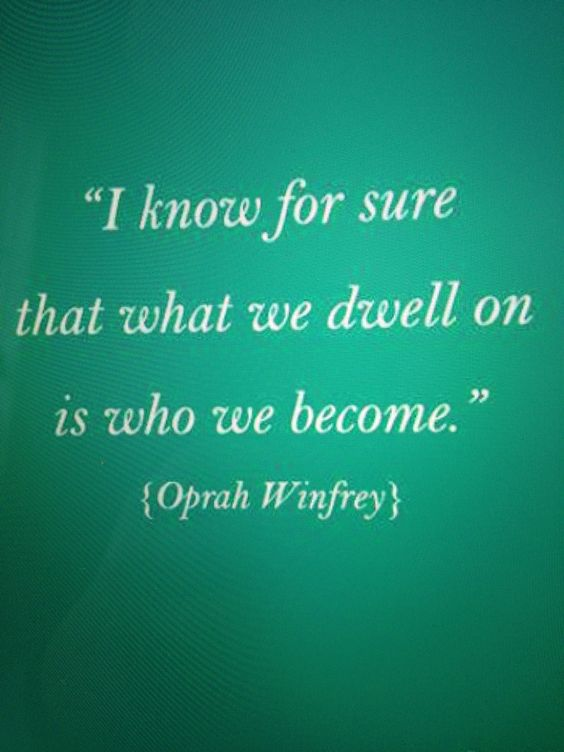 Law of attraction, Oprah quote
