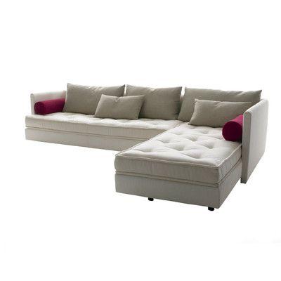 Ligne roset nomade sectional sofa set 2 piece pearl gray family room pi - Ligne roset nomade sofa ...
