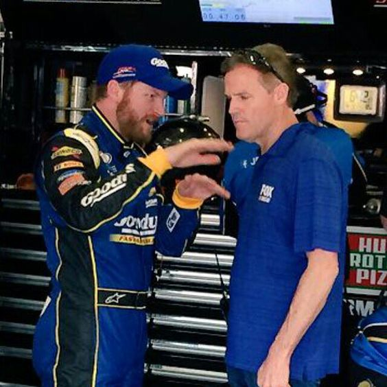 Dale Jr and Kenny Wallace