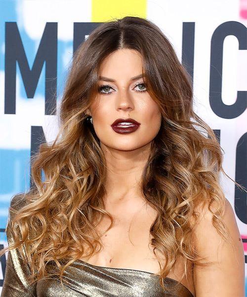 Hannah Stocking Long Wavy Casual Hairstyle - Brunette Hair Color   Hannah stocking, Hair styles, Hairstyle