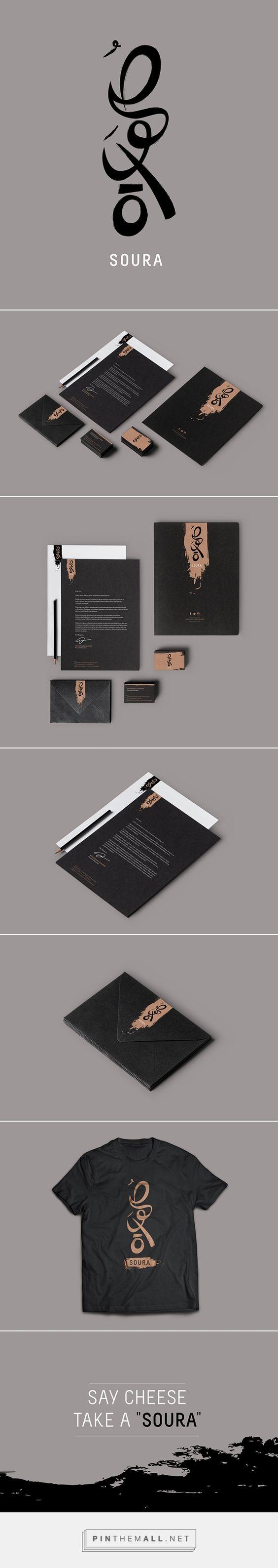 Soura Branding on Behance   Fivestar Branding – Design and Branding Agency & Inspiration Gallery