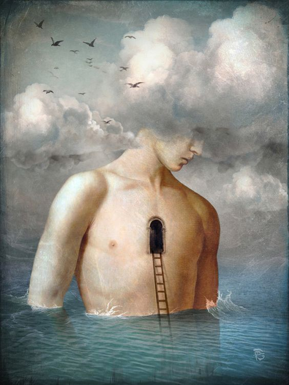 The door to the clouds by Christian Schloe.: