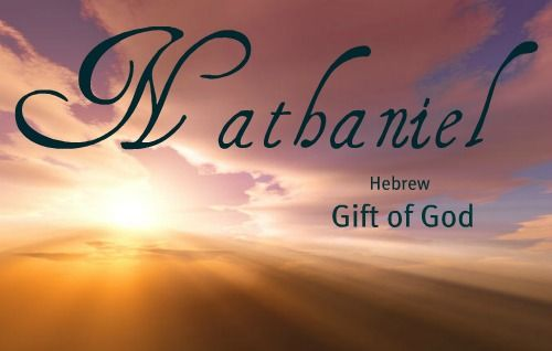 Nathaniel nathanial nathanael hebrew gift of god name nathaniel nathanial nathanael hebrew gift of god name ideas pinterest babies negle Gallery