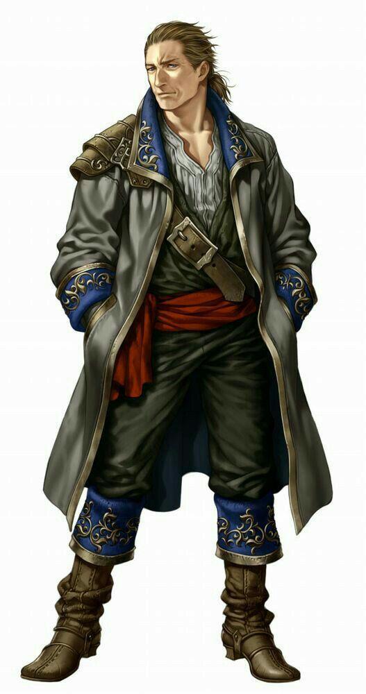 Human Pirate Investigator - Pathfinder PFRPG DND D&D d20 ...
