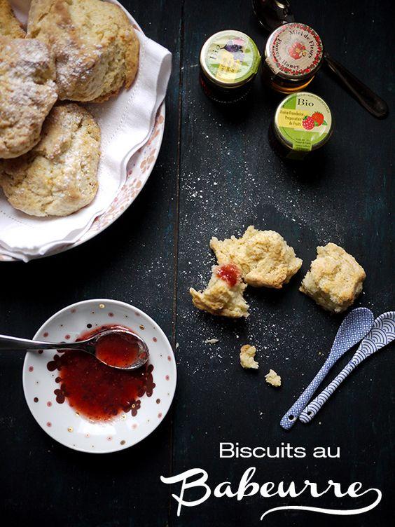 Biscuits au Babeurre [inspired by Martha Stewart]
